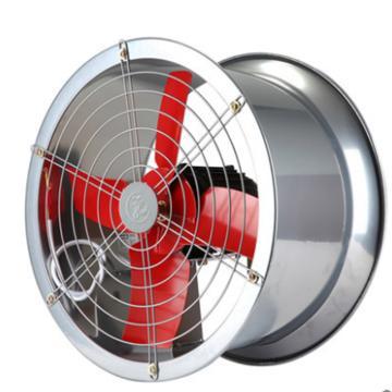 西域推荐 低噪声轴流式通风机,功率0.37KW全压230pa频率50hz电压220V噪声68分贝转速2800r/min