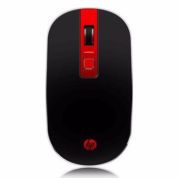 惠普S4000無線鼠標,紅黑色