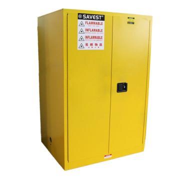 赛维斯特 易燃液体防火安全柜,WY810900,90Gal,双门手动