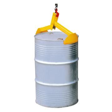 Raxwell 350Kg油桶起吊夾(吊式二爪),適用于210升/55加倫鋼桶,RMCO0001
