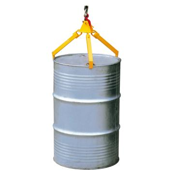 Raxwell 360Kg油桶起吊夾(吊式三爪),適用于210升/55加侖鋼桶,RMCO0002