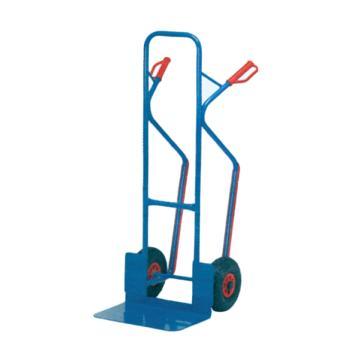 Raxwell 300Kg 加强型钢制老虎车,铲板(长*宽):300*480 实心橡胶轮胎,RHMC0136