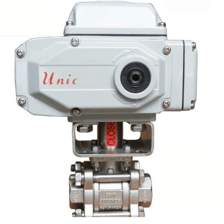 光荣 电动执行器,Unic-10(含球阀和支架)