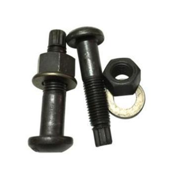 西域推荐 GB3632钢结构用扭剪型高强度螺栓连接副,M20-2.5X65,20MnTiB,10.9S级,磷化黑,85套/箱