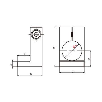 希瑞格CRG COFR夾具栓,GP2-14,7.Y00780