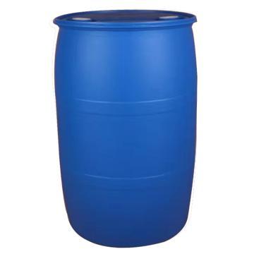 Raxwell 200L單耳環閉口PE塑料桶化工桶,藍色,φ58cm*90cm