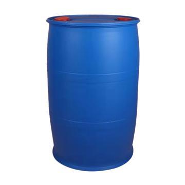 Raxwell 200L雙耳環閉口PE塑料桶化工桶,藍色,φ58cm*90cm