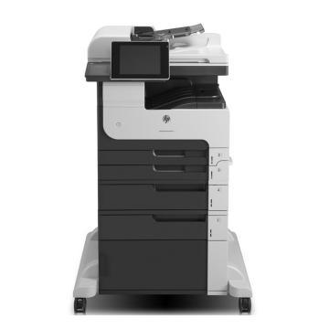惠普(HP) 黑白数码复合机,A3(打印 复印 扫描 传真)双面,40张,M725F 标配,一年保修 含安装