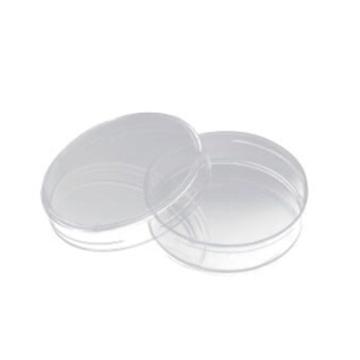 细菌培养皿,60*15mm,带盖,三出口,适用于微生物研究,消毒,10个/袋,50袋/箱