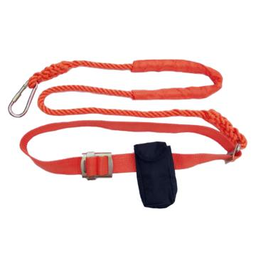 8113820 悬挂作业安全带坠落悬挂单腰带式,柄轮,坠落悬挂单腰带式,橘黄色