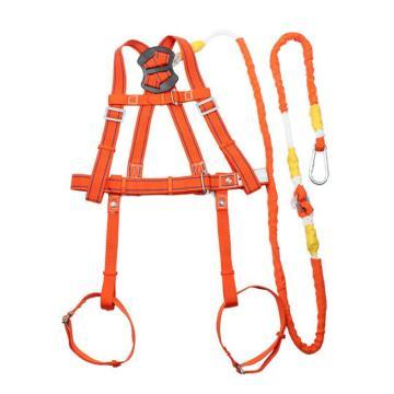悬挂作业安全带Z-Y坠落悬挂双背带式(不带缓存大挂钩),纤维纺织,坠落悬挂双背带式(不带缓存大挂钩),橘黄色