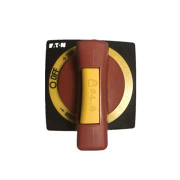 穆勒 门联动操作手柄带门联锁和另加挂锁功能 (红黄色),260178 NZM1-XTVDVR