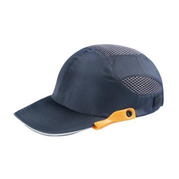 8113820 防护帽,轻便带遮,布面硬塑衬,深蓝色,均码