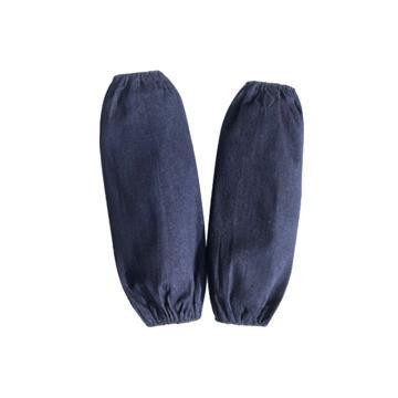 8113820 套袖,帆布,蓝色,长度约30 cm