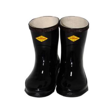8113820 高压绝缘靴,橡胶,耐压250 0 0 V,黑色
