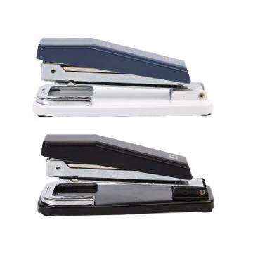 晨光 M&G 360°搖頭訂書機,ABS91627 裝訂能力20頁 (藍、黑,顏色隨機) 單個