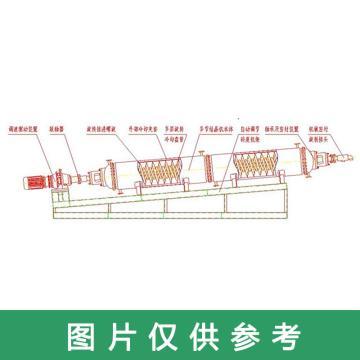 上海缘昌医药卧式螺旋推进式连续冷却结晶机