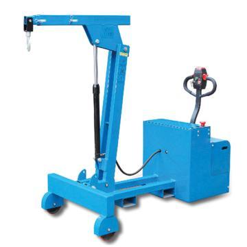 Raxwell 150-550Kg全電動平衡重單臂吊,吊鉤最大高度2503mm配下降調速閥,RMSA0013