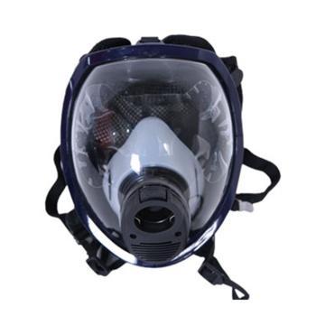 业安 空气呼吸器面罩,RHZK-6.8/30,复合瓶空气呼吸器配套面罩