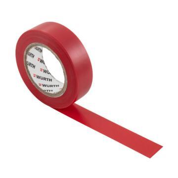 伍尔特 电工绝缘胶带,0985103,红色,15MMX10M/卷