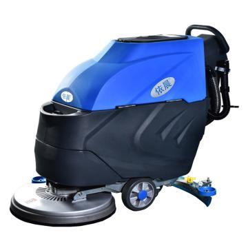 8113820吉易隆 手推式洗地机,YC-530 洗地宽度:530mm吸水宽度:820mm