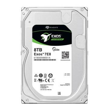 希捷企业级硬盘,ST8000NM001A 8TB 256MB 7200RPM SAS接口 希捷银河Exos 7E8系列 坚固可靠安全耐用