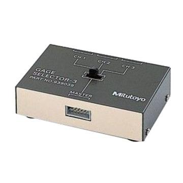 三丰Mitutoyo 选择器,No.939039、3通道,939039