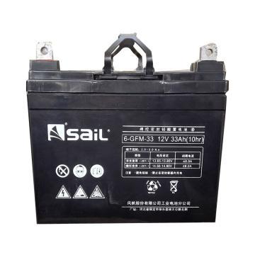 风帆SAIL 储能蓄电池,12V/33Ah,6-GFM-33