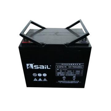 风帆SAIL 储能蓄电池,12V/75Ah,6-GFM-75