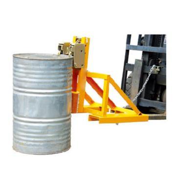 Raxwell 500Kg加强型叼扣式油桶夹,双桶双夹 叉孔150*55mm 两叉孔内间距450mm,RMCM0013