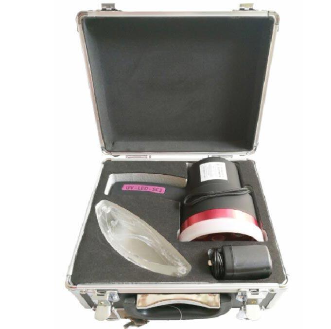 8113820德聚 紫光灯 365纳米手持检测灯具 UV-LED-SC3,11cm,单位:台