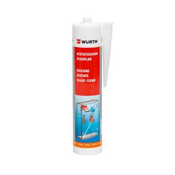 伍尔特 酸性硅酮密封胶,0892215,全透明,310ML/支(售完即止)