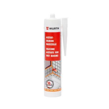 伍爾特 酸性防霉硅酮密封膠,08925602,亮白色,310ML/支