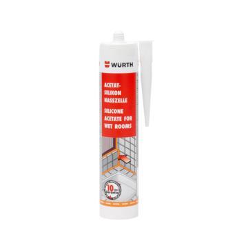 伍爾特 酸性防霉硅酮密封膠,08925601,透明,310ML/支