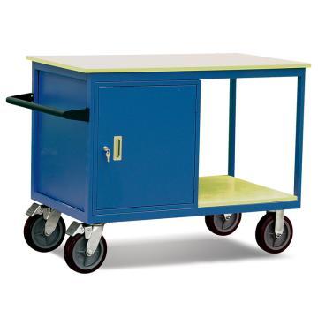 Raxwell 500KgC型可移动工具柜车,台面1150*700 台面高度930mm 带抽屉(1.5mm厚),RHTC0023