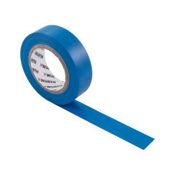 伍尔特 电工绝缘胶带,0985105,蓝色,15MMX10M/卷