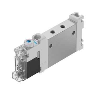 费斯托/FESTO两位五通双电控电磁阀,VUVG-LK10-M52-AT-M5-1H2L-W1-S,589281