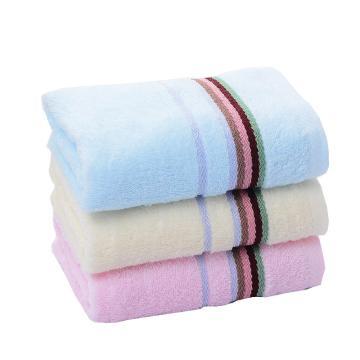 潔麗雅Grace素色緞檔毛巾,640970*34cm 75g