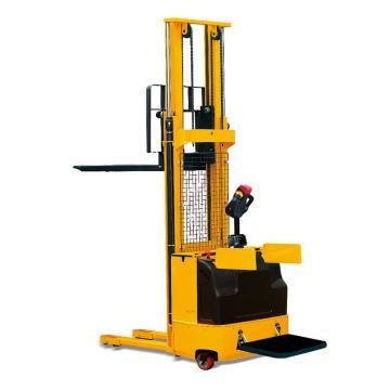 Raxwell 1500Kg寬視野全電動堆高車,配踏板扶手 貨叉560*1150 貨叉高90-1600mm,RMCE0013