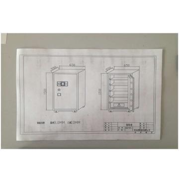 高等级涉密载体存放柜,灰白色,FDG-A2/D-150