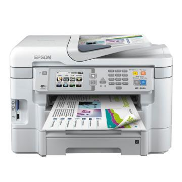愛普生(EPSON)彩色噴墨多功能一體機,WF-3641 A4(打印 復印 掃描 傳真) 有線/網絡/自動雙面