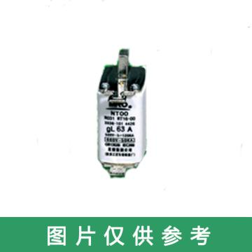 茗熔MIRO 刀型熔斷器 NT00 gG 500V/690V/100A 5個/盒 普通型