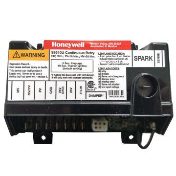 Honeywell 點火模塊,S8610U3009