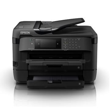 愛普生(EPSON)彩色噴墨多功能一體機,WF-7728 A3(自動雙面打印 復印 掃描 傳真)
