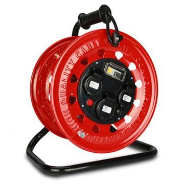 德力西DELIXI 移动电缆盘 380V*2/220V*1防水型带漏电,DHADLPPC4B