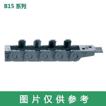 易格斯igus 拖鏈,E2迷你|B15系列,內寬025,彎曲半徑048,B15.025.048.0