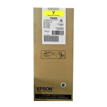 爱普生(EPSON)墨盒,T9484 黄色 标容3000页(适用WF-5290/5790型)