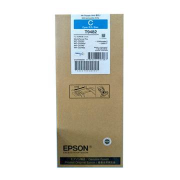 爱普生(EPSON)墨盒,T9482 青色 标容3000页(适用WF-5290/5790型)