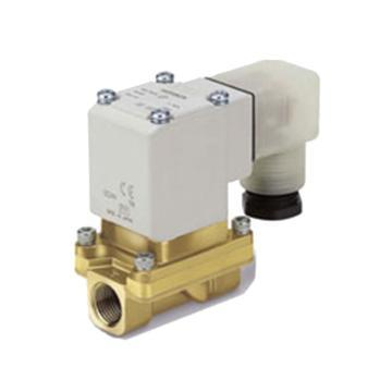 SMC 先导式零差压启动型2通电磁阀 水用,VXZ262KZ2A