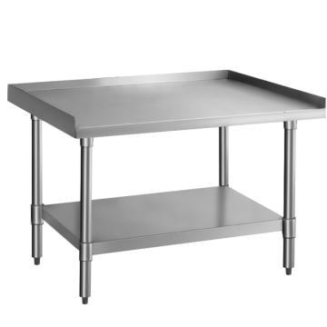 西域推薦 雙層不銹鋼多功能工作臺,RCS-TABLE-08C 304 900*550*750mm